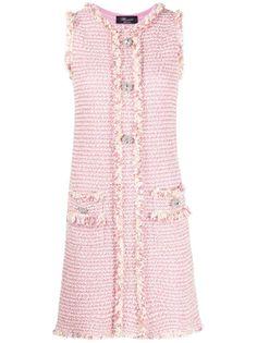Blumarine твидовое платье