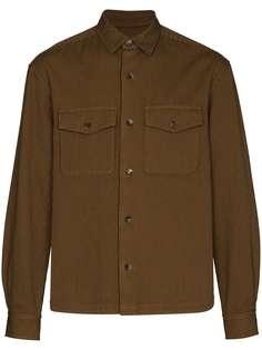 Kenzo куртка-рубашка в полоску