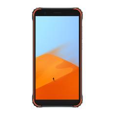 Смартфон BLACKVIEW 64Gb, BV4900 Pro, черный/оранжевый