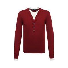 Пуловер из шелка и хлопка Dolce & Gabbana