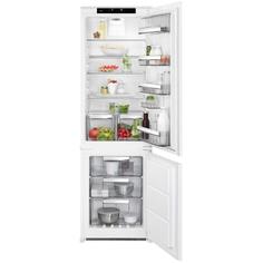 Встраиваемый холодильник комби AEG SCR818E7TS