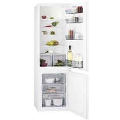 Встраиваемый холодильник комби AEG SCR418F3LS