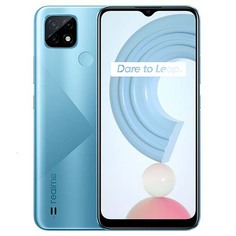 Смартфон realme C21 4+64GB Cross Blue (RMX3201)