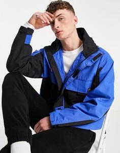 Синяя куртка с несколькими карманами ASOS Unrvlld Supply-Голубой