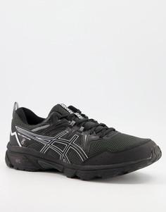 Черно-белые кроссовки Asics Trail Gel Venture 8-Черный цвет