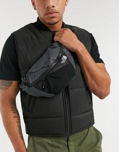 Серая сумка-кошелек на пояс The North Face Lumbnical S-Серый