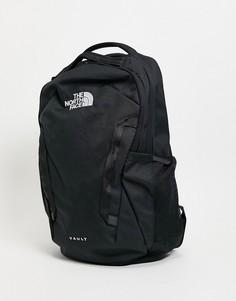 Черный рюкзак The North Face Vault-Черный цвет
