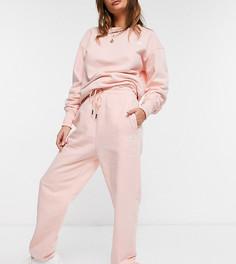 Светло-розовые базовые oversized-джоггеры The North Face Essential – эксклюзивно для ASOS-Розовый цвет