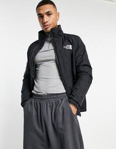 Черная дутая куртка The North Face Gosei-Черный цвет