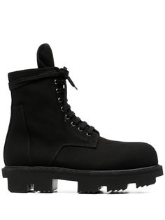 Rick Owens DRKSHDW массивные ботинки на шнуровке