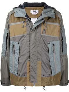 Junya Watanabe MAN легкая куртка со вставками
