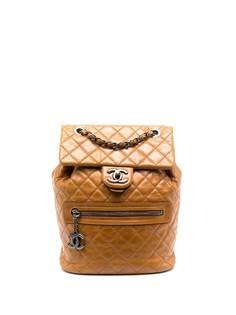 Chanel Pre-Owned стеганый рюкзак