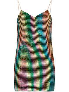 Ashish платье мини с пайетками