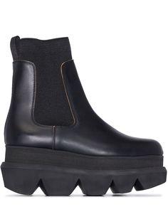 Sacai ботинки челси на платформе