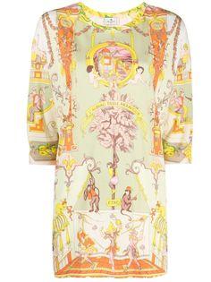 Etro блузка с рукавами три четверти