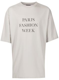 Balenciaga футболка с надписью