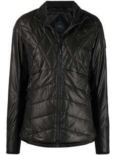 Canada Goose стеганая куртка на молнии