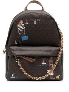 Michael Michael Kors рюкзак с монограммой