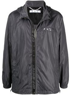 Off-White непромокаемая куртка Industrial на молнии