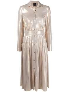 Pinko платье-рубашка на пуговицах