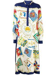 Etro платье-рубашка с принтом
