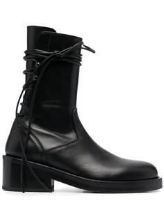 Ann Demeulemeester ботинки на шнуровке
