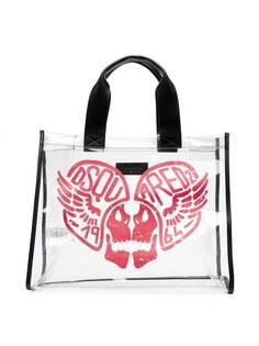 Dsquared2 Kids сумка-тоут с принтом