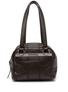 Chanel Pre-Owned сумка-тоут Choco Bar 2004-го года