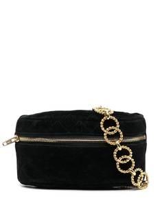Chanel Pre-Owned стеганая поясная сумка
