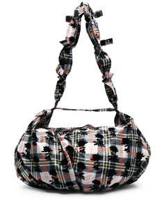 Chopova Lowena сумка на плечо в клетку