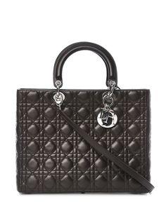 Christian Dior сумка Lady Dior pre-owned с ручками и ремнем