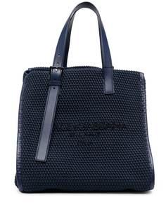 Dolce & Gabbana плетеная сумка-тоут