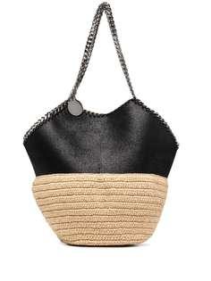Stella McCartney соломенная сумка-тоут Falabella