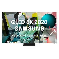 """Телевизор Samsung QE65Q900TSUXRU, 65"""", QLED, Ultra HD 8K"""