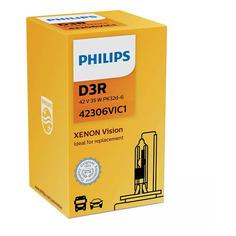Лампа автомобильная ксеноновая PHILIPS 42306VIC1, D3R, 42В, 35Вт, 4400К, 1шт