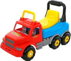 Каталка Wader Автомобиль Буран №2 (голубой, красный)