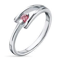 Кольцо из серебра э0612кц01158900 ЭПЛ Якутские Бриллианты