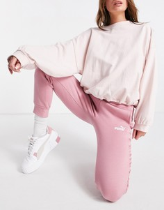 Розовые джоггеры Puma Amplified-Розовый цвет