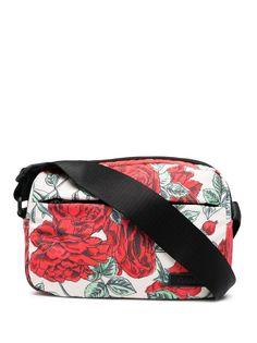 GANNI сумка через плечо с нашивкой-логотипом и цветочным принтом
