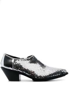 Junya Watanabe ботинки с пайетками