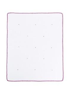 Little Bear трикотажное одеяло с вышивкой