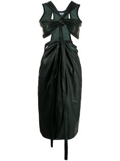 Christopher Esber платье с перекрученной деталью
