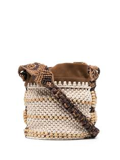Alberta Ferretti плетеная сумка-сэтчел