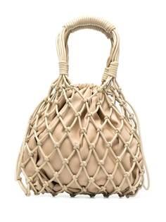 Nanushka сумка-тоут Naiya из искусственной кожи