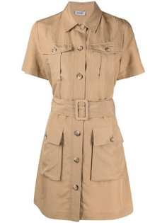 LIU JO платье-рубашка с поясом