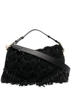 Alberta Ferretti плетеная сумка-тоут