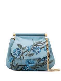 Alberta Ferretti сумка через плечо с цветочным узором