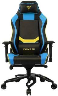 Игровое кресло ZONE-51 Cyberpunk Blue Yellow (Z51-CBP-BY)