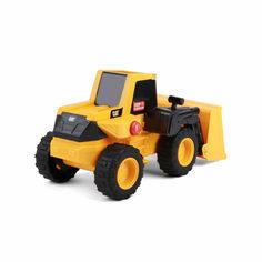 Машинка CAT Погрузчик фривил 30 см, со световыми и звуковыми эффектами (желто-черный) Caterpillar
