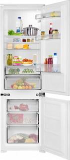 Встраиваемый двухкамерный холодильник Weissgauff